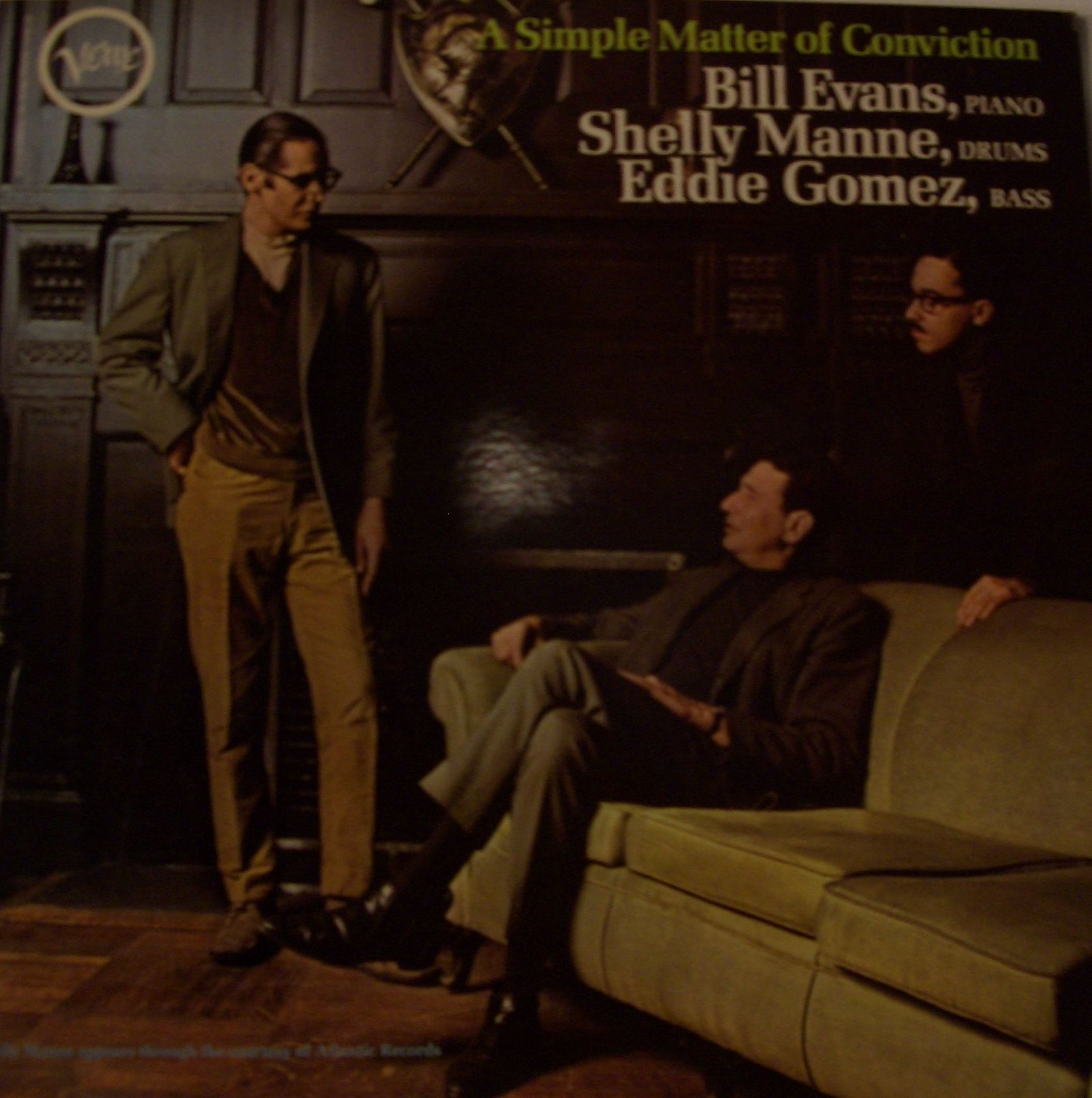 BILL EVANS / A SIMPLE MATTER OF CONVICTION