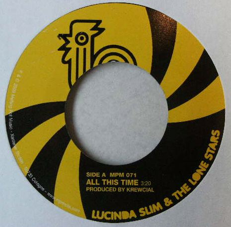 LUCINDA SLIM & THE LONE STARS / ALL THIS TIME