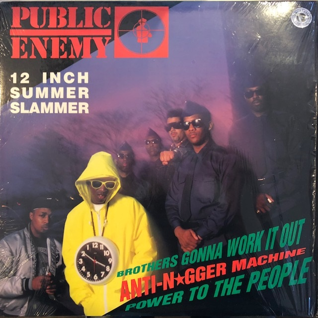 PUBLIC ENEMY / BROTHERS GONNA BACK WORK IT OUT