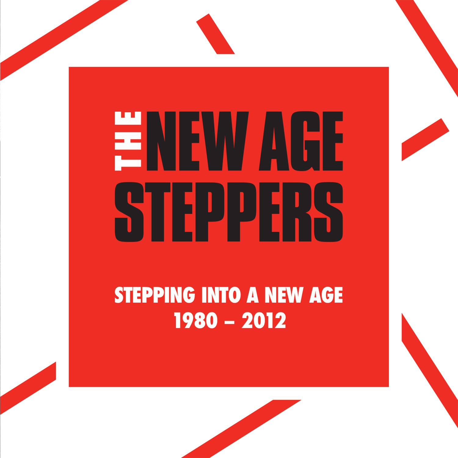 NEW AGE STEPPERS / STEPPING INTO A NEW AGE 1980 - 2012 限定 国内仕様5CD(BOX)+Tシャツ(L)