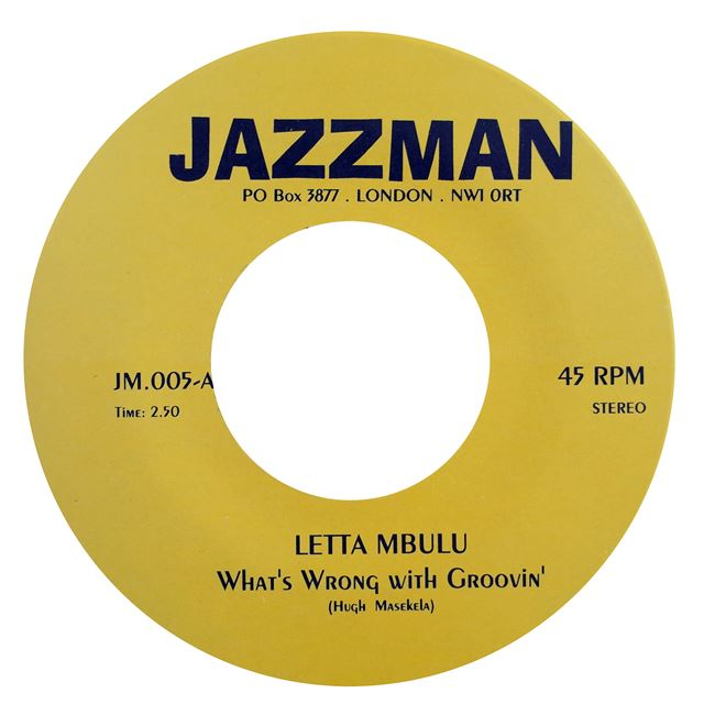 LETTA MBULU / WHAT'S WRONG WITH GROOVIN'