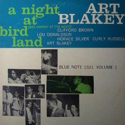 ART BLAKEY / A NIGHT AT BIRDLAND  (キング GXF-3003 mono盤)