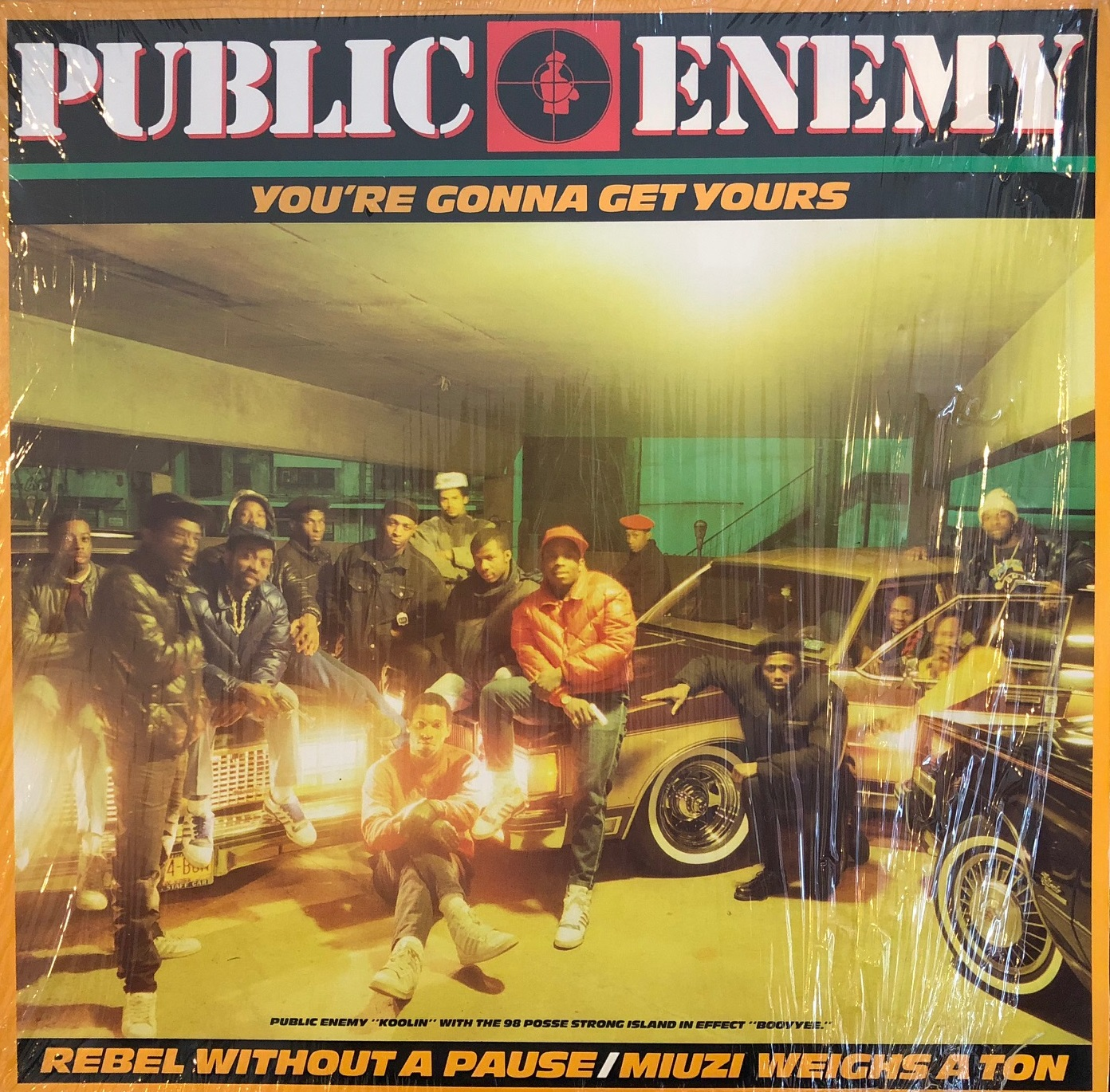 PUBLIC ENEMY / YOU`RE GONNA GET YOURS