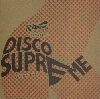 VARIOUS / DISCO SUPREME VOLUME 1