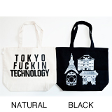 ANORAKS / LIFE IS JOURNEY TOTE (TOKYO NATURAL)