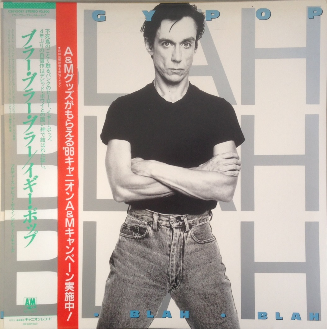 IGGY POP / BLAH BLAH BLAH