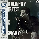 ERIC DOLPHY QUARTET / LIVE IN GERMANY