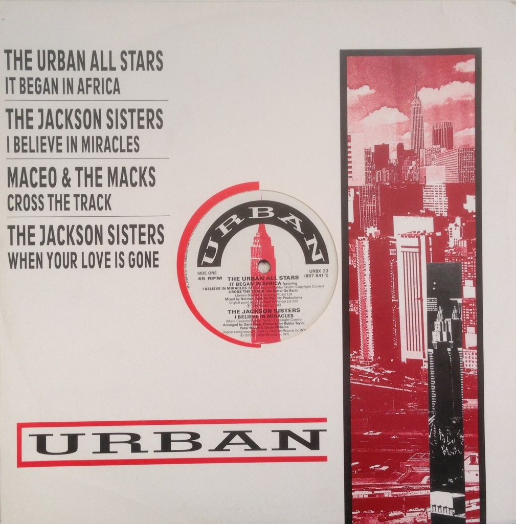URBAN ALL STARS / IT BEGAN IN AFRICA