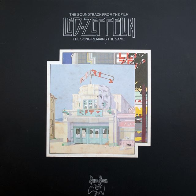 LED ZEPPELIN / SOUNDTRACK FROM THE FILM THE SONG REMAINS THE SAME