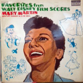 MARY MARTIN / FAVORITES FROM WALT DISNEY FILM SCOR