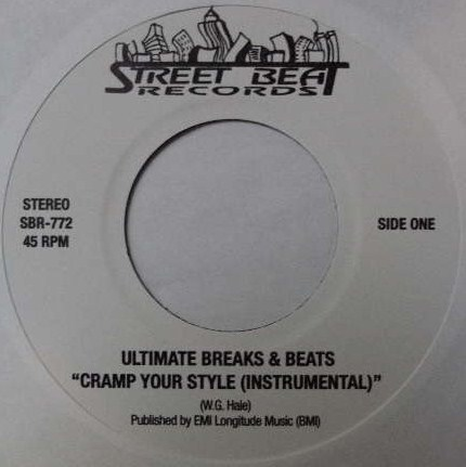 ULTIMATE BREAKS & BEATS / CHAMP YOUR STYLE