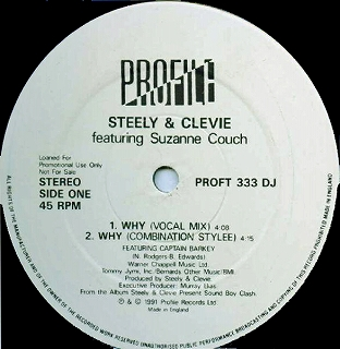 STEELY & CLEVIE FEATURING SUZANNE COUCH ‎/ WHY