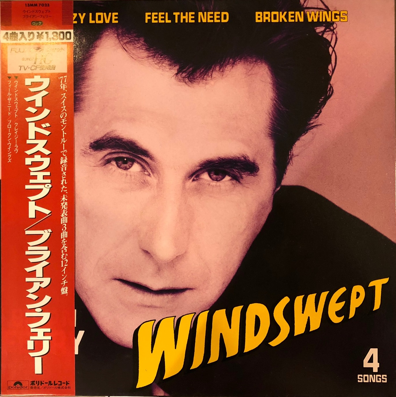 BRYAN FERRY / WINDSWEPT