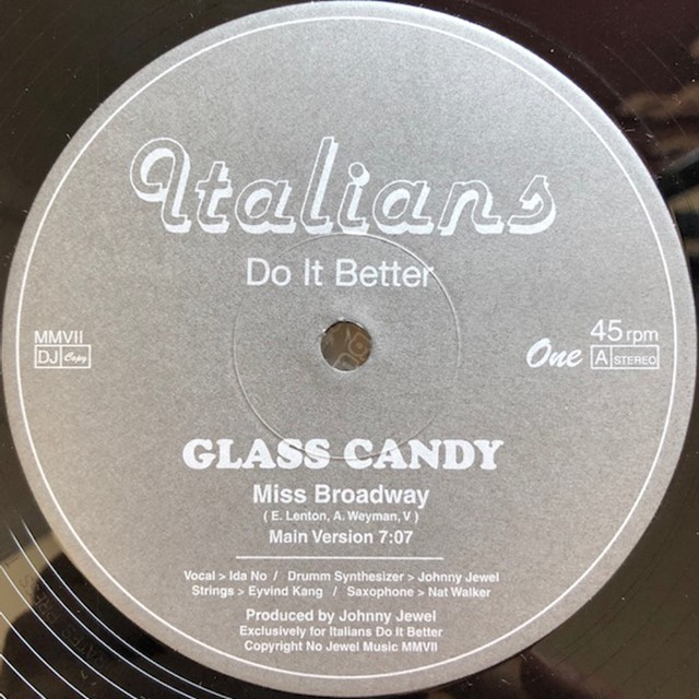 GLASS CANDY / MISS BROADWAY