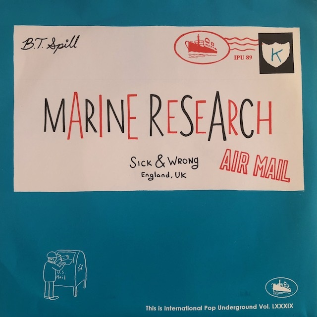 BUILT TO SPILL / MARINE RESEARCH / BY THE WAY / SICK & WRONG