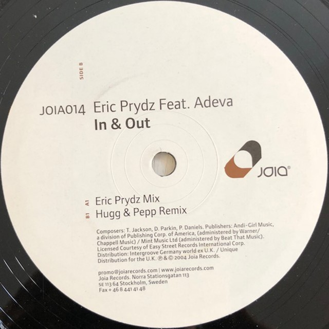 ERIC PRYDZ / IN & OUT