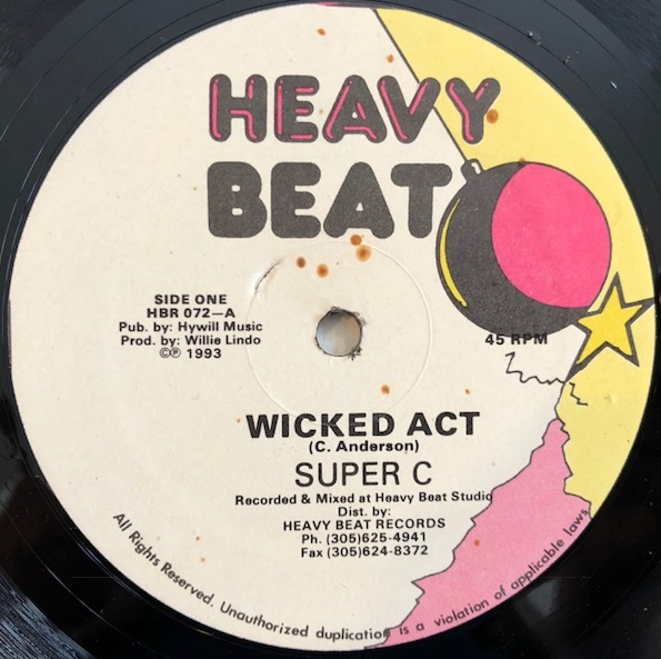 WICKED ACT / SUPER C
