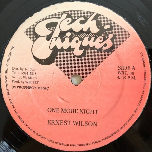 ERNEST WILSON / LITTLE PRINCE / ONE MORE NIGHT / SOME PEOPLE BELONG TOGETHER