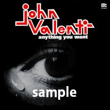 JOHN VALENTI / ANYTHING YOU WANT / WHY DON'T WE FALL IN LOVE