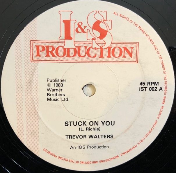 TREVOR WALTERS / STUCK ON YOU