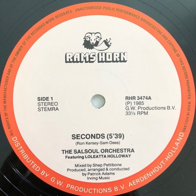 SALSOUL ORCHESTRA / SECONDS