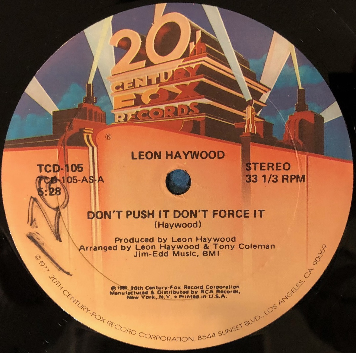 LEON HEYWOOD / DON'T PUSH IT DON'T FORCE IT