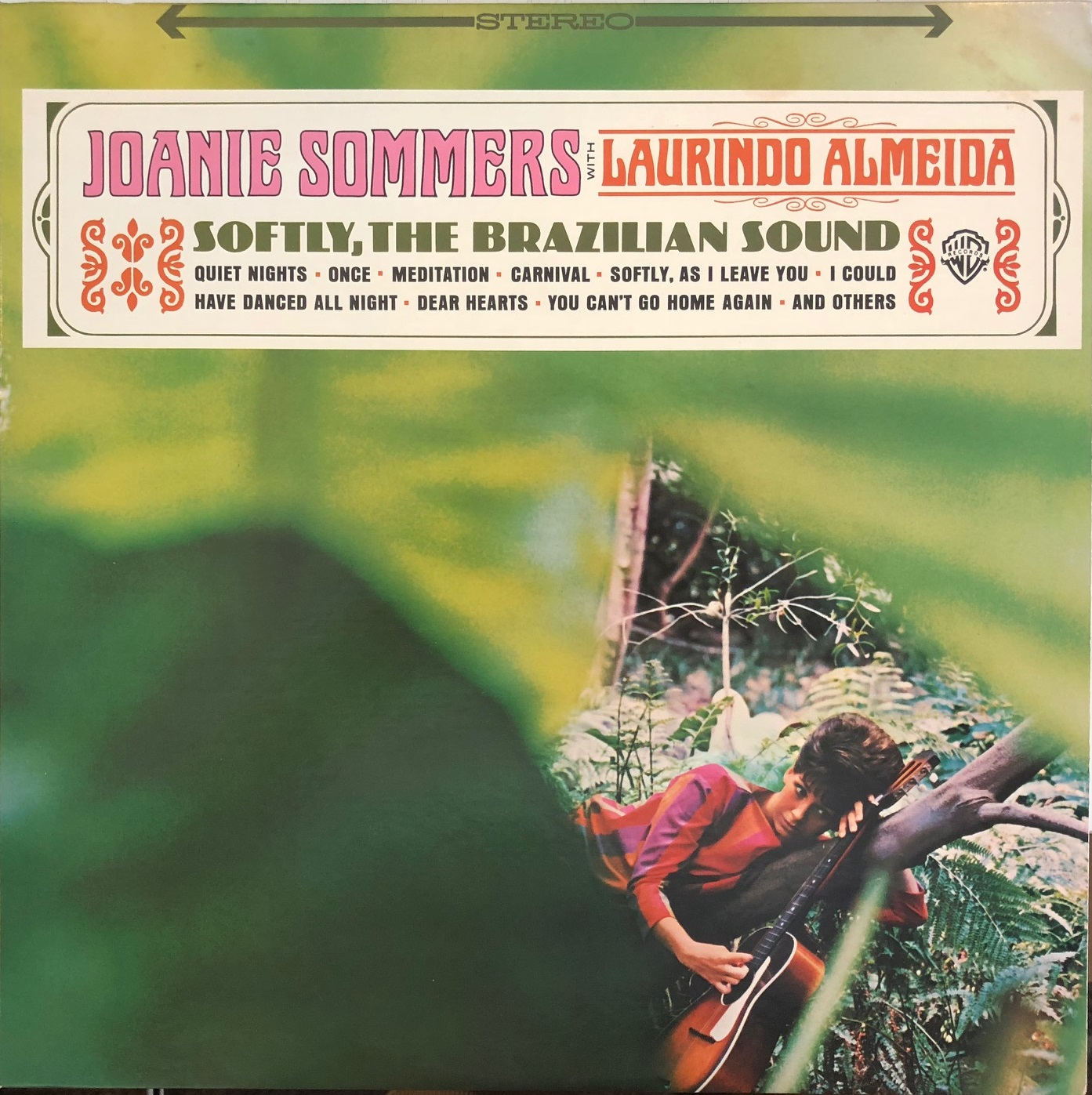 JOANIE SOMMERS WITH LAURINDO ALMEIDA / SOFTLY, THE BRAZILIAN SOUND