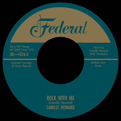 CAMILLE HOWARD / NASTY MAN / ROCK WITH ME