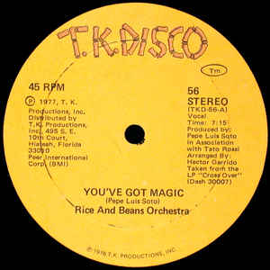 RICE AND BEANS ORCHESTRA ‎/ YOU'VE GOT MAGIC