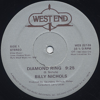 BILLY NICHOLS / DIAMOND RING