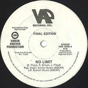 FINAL EDIITION / NO LIMIT