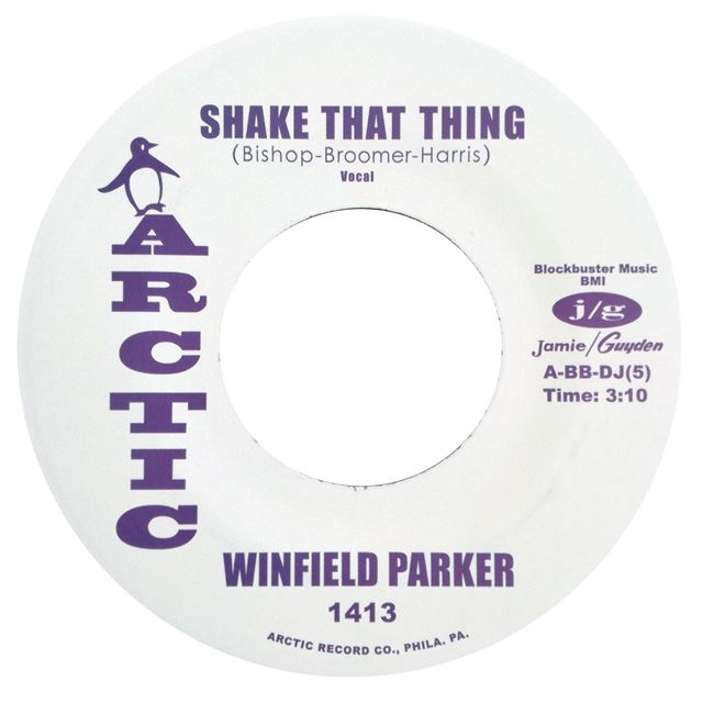 WINFIELD PARKER ‎/ SHAKE THAT THING