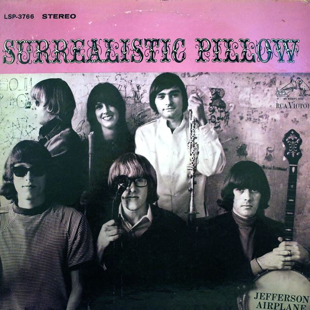 JEFFERSON AIRPLANE ‎/ SURREALISTIC PILLOW
