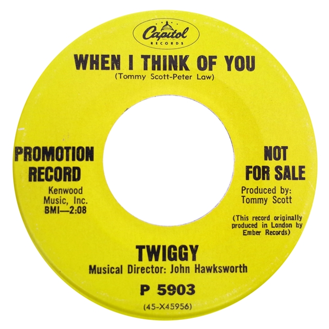 TWIGGY / WHEN I THINK OF YOU / OVER AND OVER