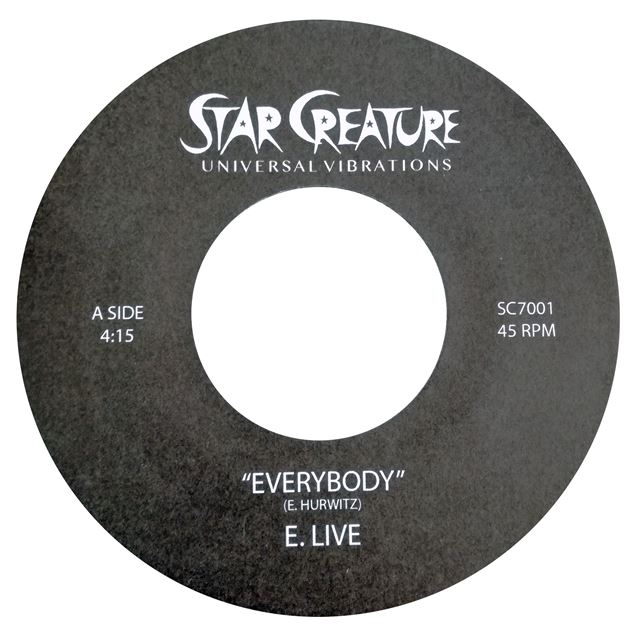 E. LIVE FEAT. SALLY GREEN ‎/ EVERYBODY / BE FREE