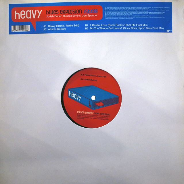 JON SPENCER BLUES EXPLOSION ‎/ HEAVY