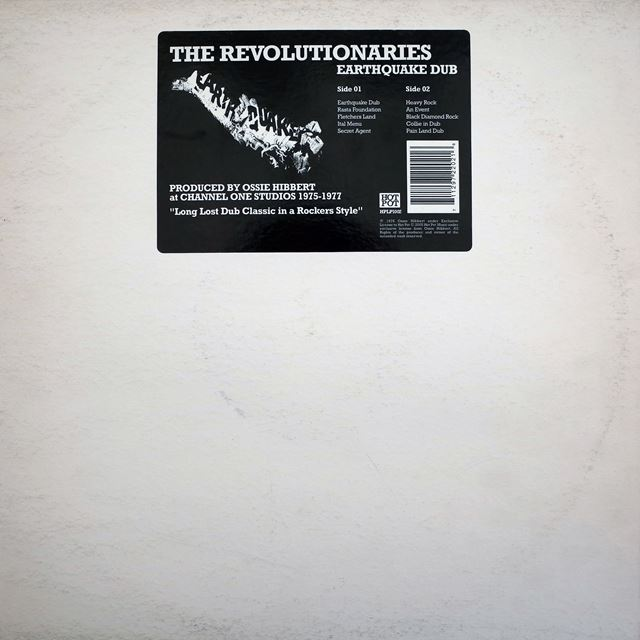 REVOLUTIONARIES ‎/ EARTHQUAKE DUB