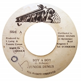 JUNIOR DEMUS ‎/ BOY A BOY