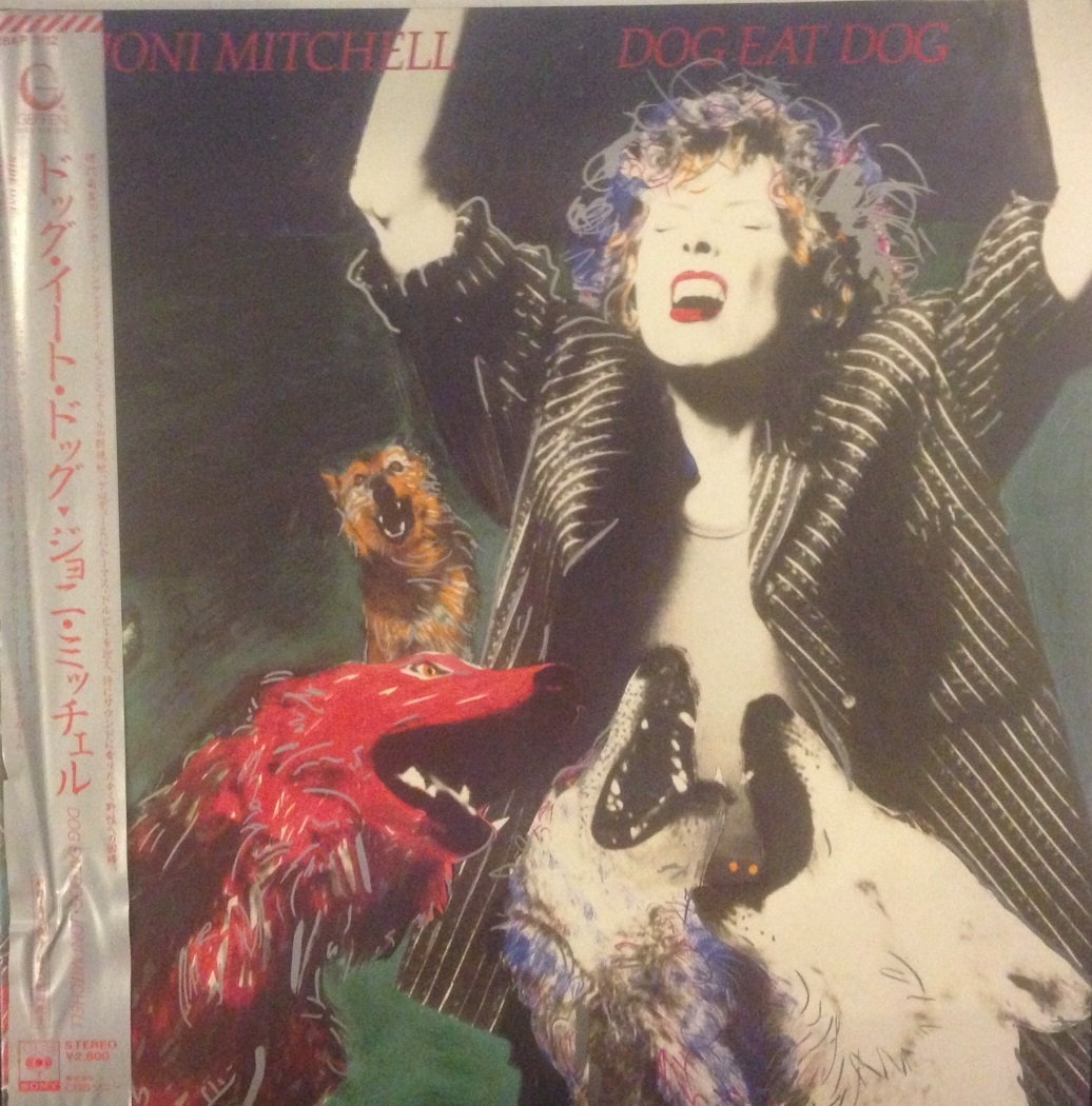 JONI MITCHELL ‎/ DOG EAT DOG
