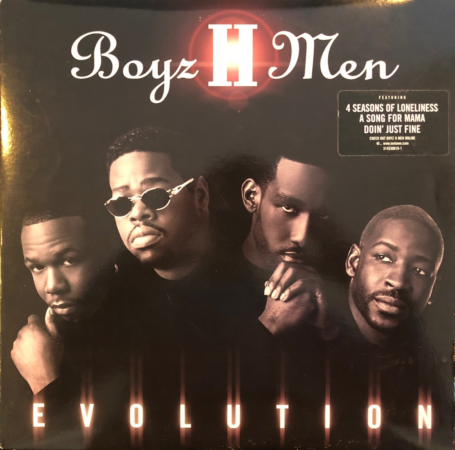 BOYZ II MEN ‎/ EVOLUTION
