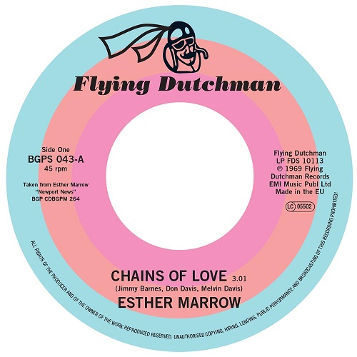 ESTHER MARROW / CHAINS OF LOVE - WALK TALL