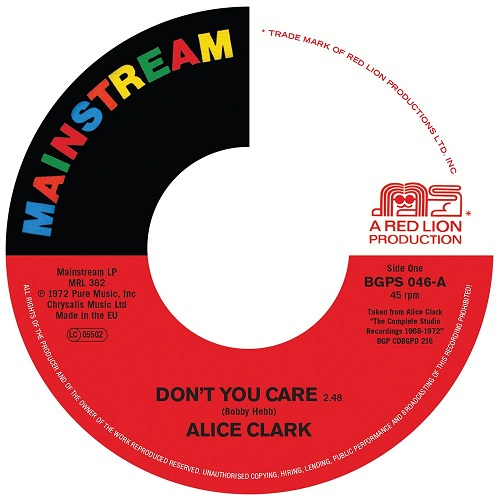 ALICE CLARK / DON'T YOU CARE