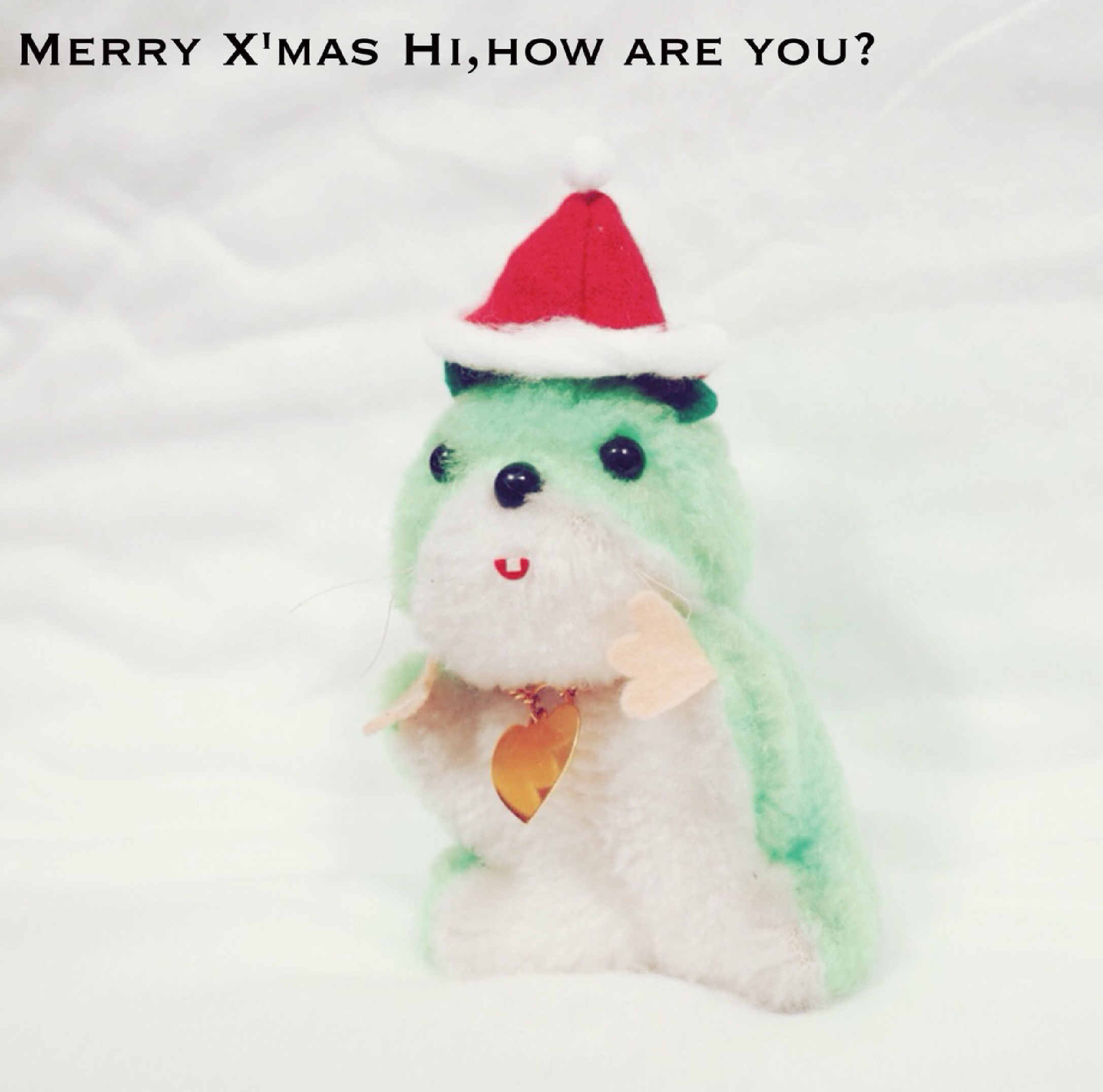 HI,HOW ARE YOU? / MERRY XMAS, HI,HOW ARE YOU?