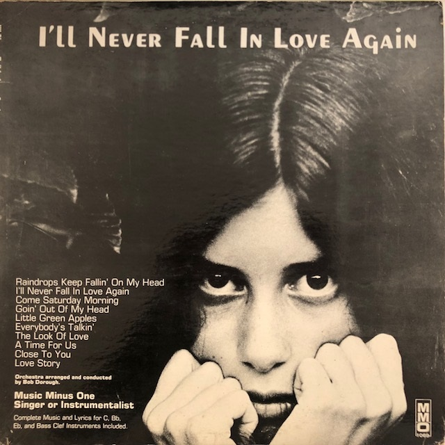 BOB DOROUGH / I'LL NEVER FALL IN LOVE AGAIN