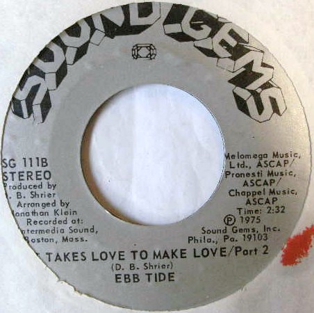 EBB TIDE / IT TAKES LOVE TO MAKE LOVE