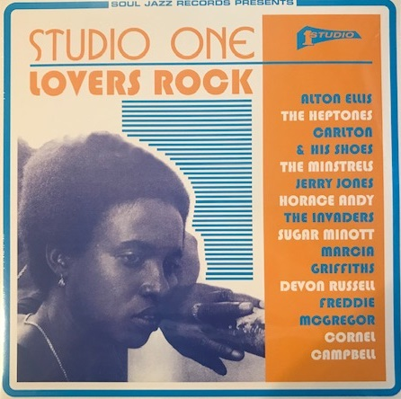 VARIOUS (ALTON ELLIS、HEPTONES、CARLTON & HIS SHOES、MARCIA GRIFFITHS) ‎/ STUDIO ONE LOVERS ROCKのレコードジャケット写真