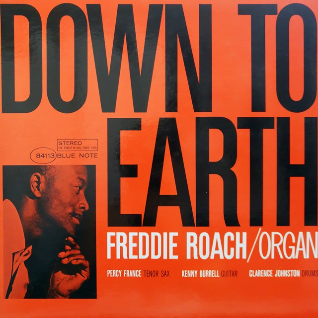 FREDDIE ROACH ‎/ DOWN TO EARTH