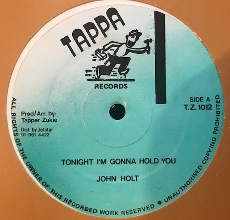 JOHN HOLT ‎/ TONIGHT I'M GONNA HOLD YOU