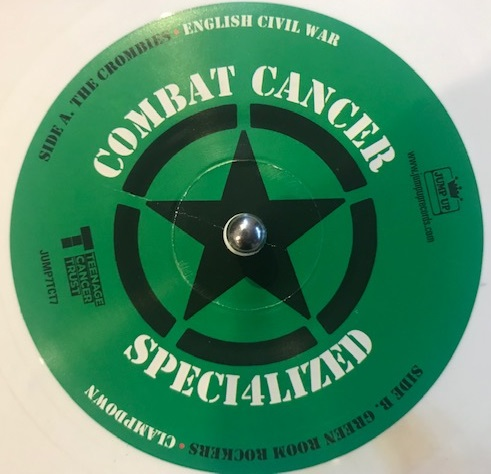 THE CROMBIES / GREEN ROOM ROCKERS ‎/ CLASH GOES JAMAICAN COMBAT CANCERのレコードジャケット写真