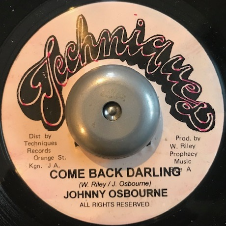 JOHNNY OSBOURNE / COME BACK DARLING